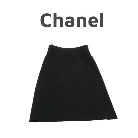 CHANEL Dresses & Skirts - Chanel Black Pencil Skirt. Sz 2